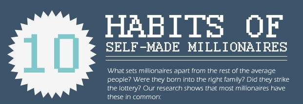 habits of self-made millionaires