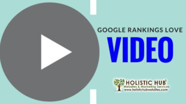 Google Rankings Love Video