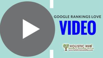 Google Rankings Love Video